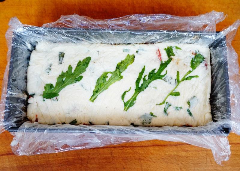Террин из козьего сыра и баклажанов фото