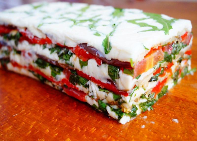 Террин из козьего сыра и баклажанов рецепт фото