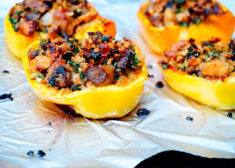 Закуска из сладких перцев с белыми грибами рецепт фото
