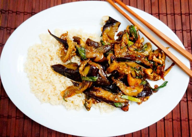 Баклажаны по-китайски рецепт приготовления фото