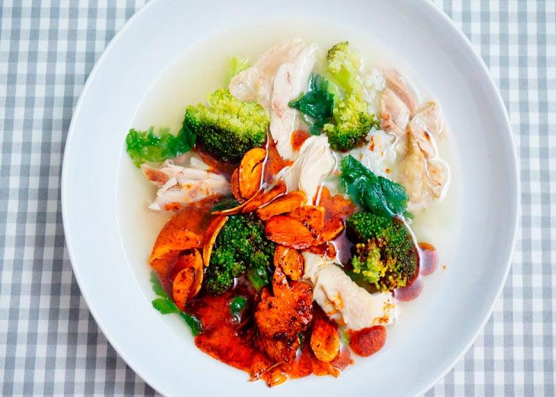 Куриный суп с рисом приготовление фото