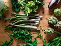 Листовые овощи фото