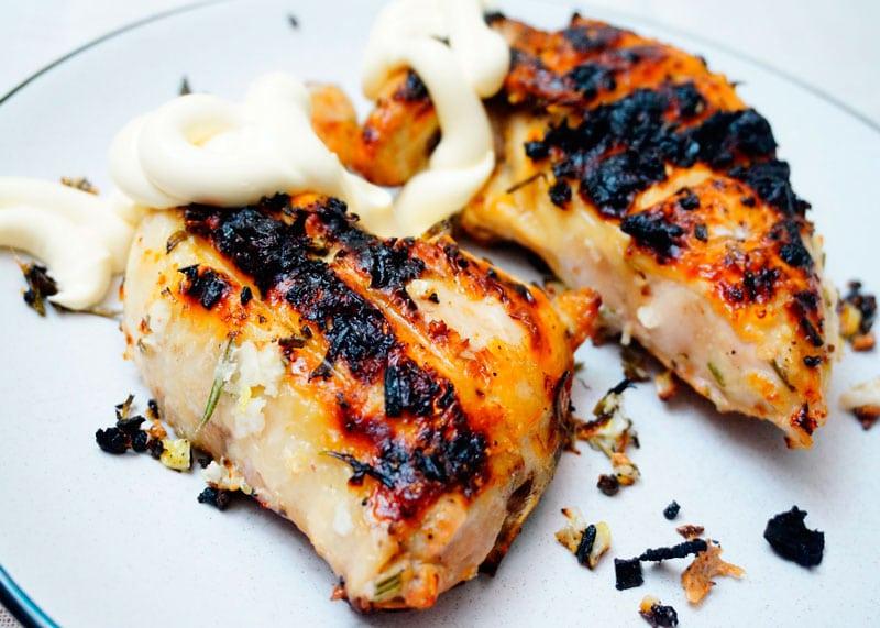 Тосканские цыплята на гриле рецепт фото