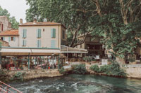 Деревня в Провансе фото