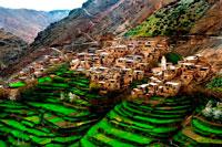 Деревня в горах фото