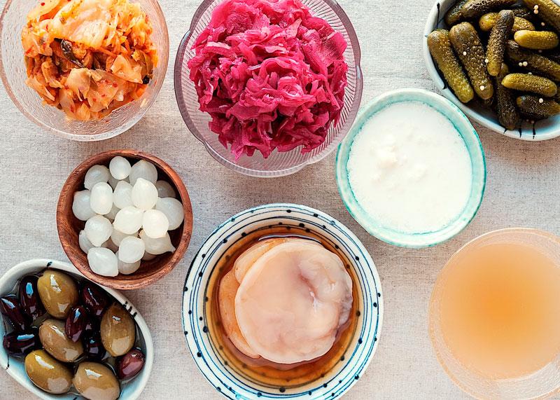 Продукты с содержанием пробиотиков фото
