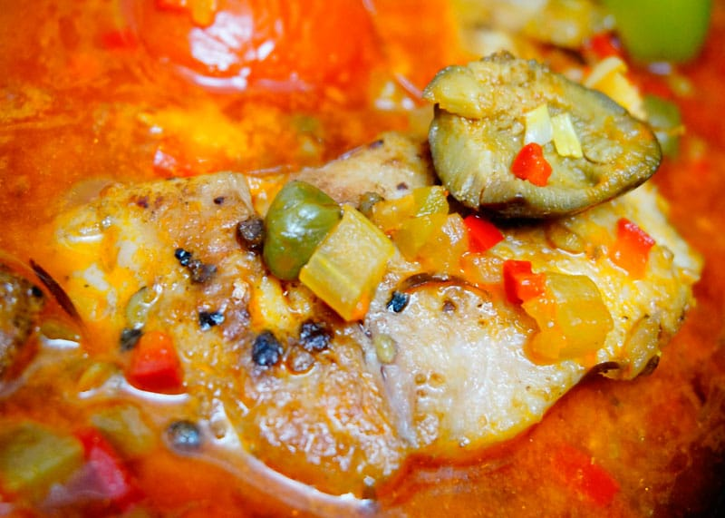 Рыба под неаполитанским соусом рецепт фото
