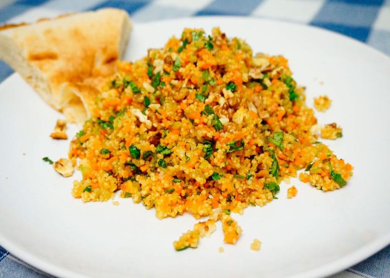 Салат из кус-куса и моркови рецепт фото