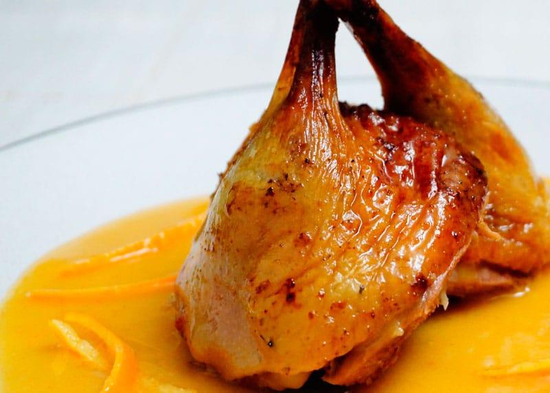 Утка в апельсиновом соусе рецепт фото