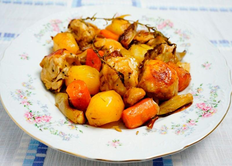 Конфи из цыпленка рецепт фото