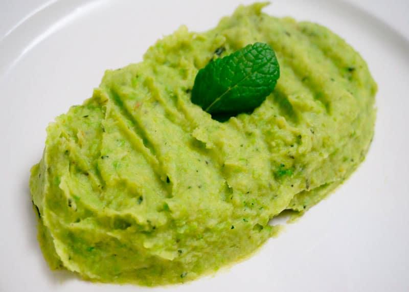 Пюре из зеленого горошка и пастернака рецепт фото