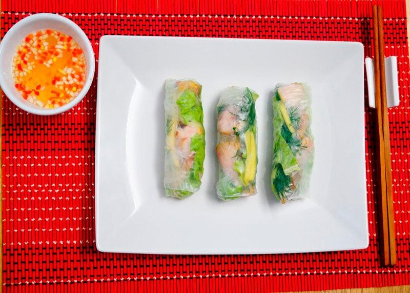 Рисовые блинчики с рыбой рецепт фото