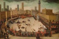 Средневековая Сиена фото