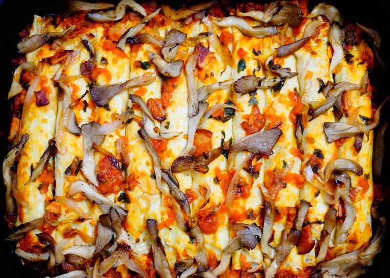 Блинчики с начинкой из говядины приготовление фото