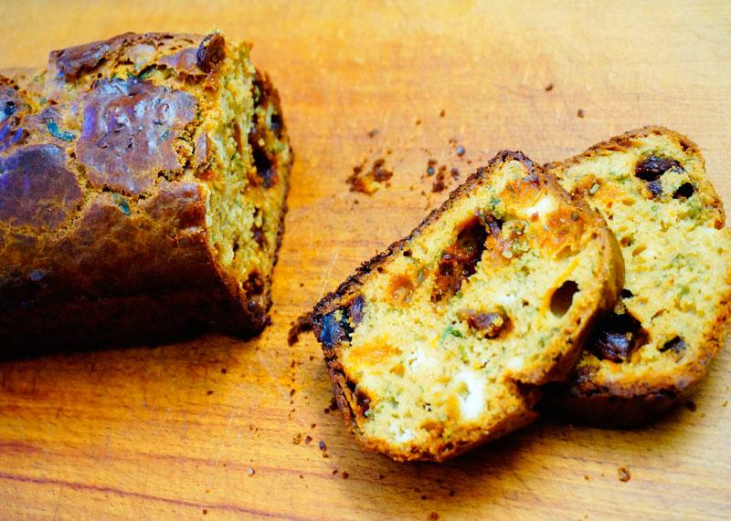 Французский хлеб с вяленой дыней рецепт фото