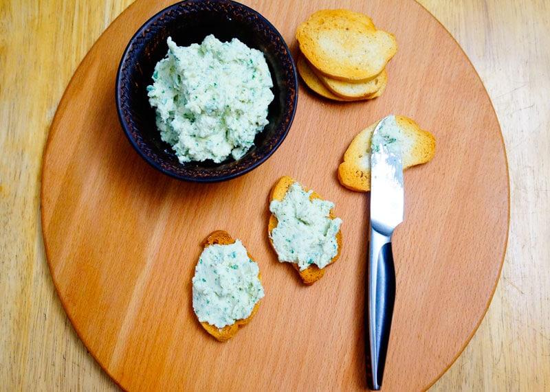Французский сырный спред рецепт фото