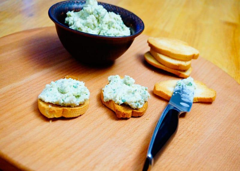 Французский сырный спред приготовление фото