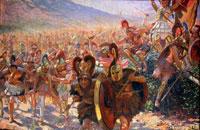 Покорение греков римлянами фото