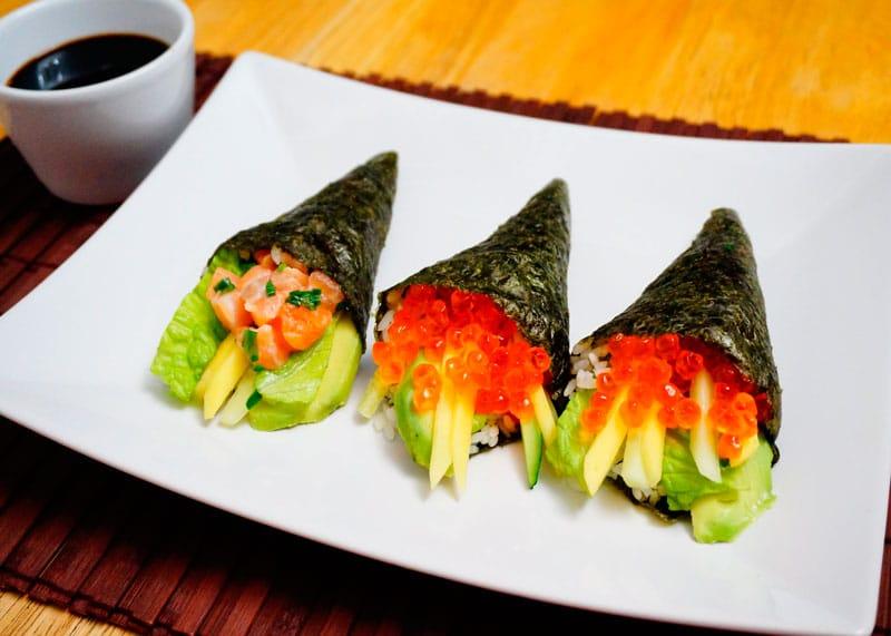 Тэмаки суши фото