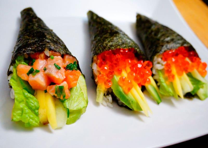 Рецепт Тэмаки суши фото