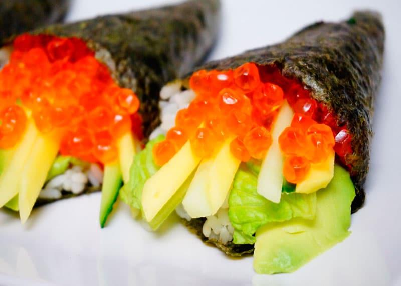 Тэмаки суши приготовление фото