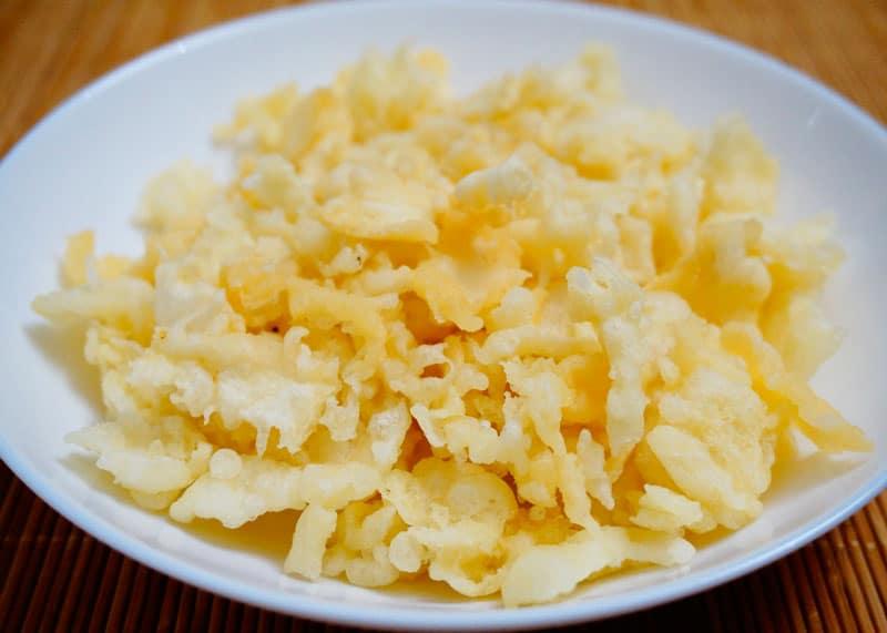 Японские хрустики из теста тэмпура рецепт фото