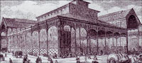 Рынок чрево Парижа фото