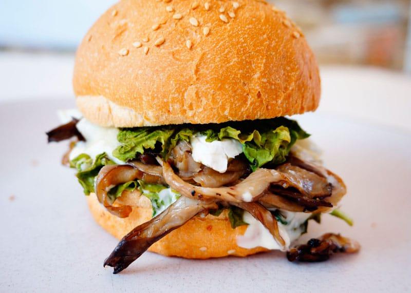 Чисбургер с грибами рецепт фото
