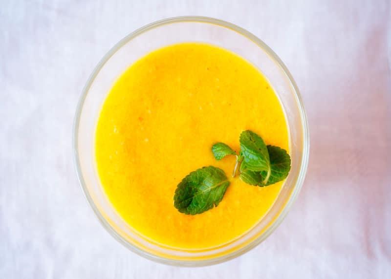 Гаспачо из апельсинов фото