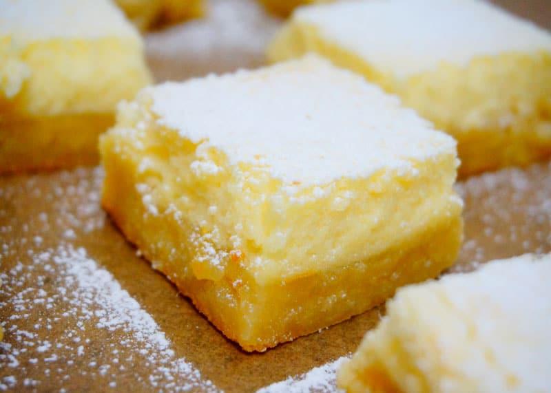 Лимонные бары рецепт фото
