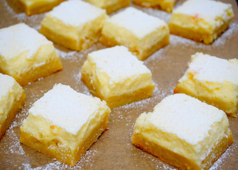 Лимонные бары фото