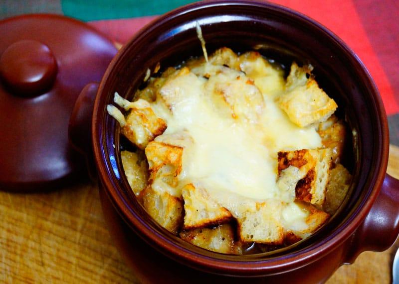 Луковый суп с грибами рецепт фото