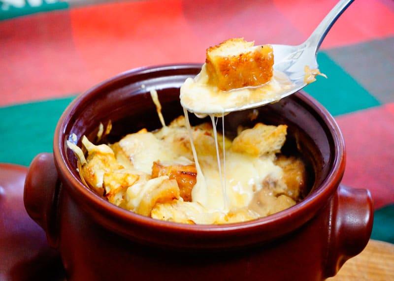 Рецепт луковый суп с грибами фото