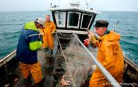 Рыбаки в море фото