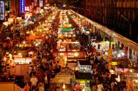 Рынок в Тайбее фото
