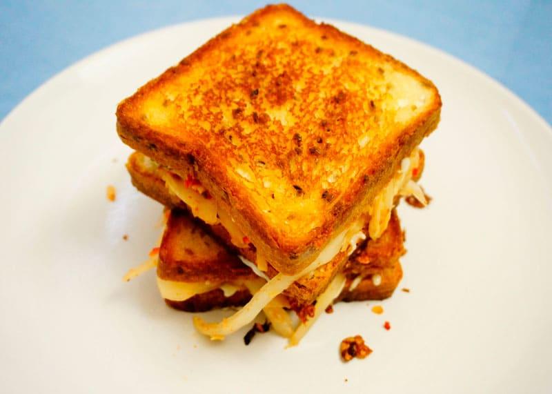 Сэндвич с кимчи рецепт фото