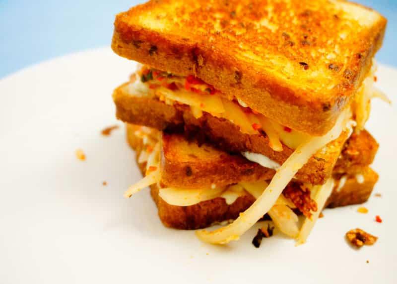 Сэндвич с кимчи фото