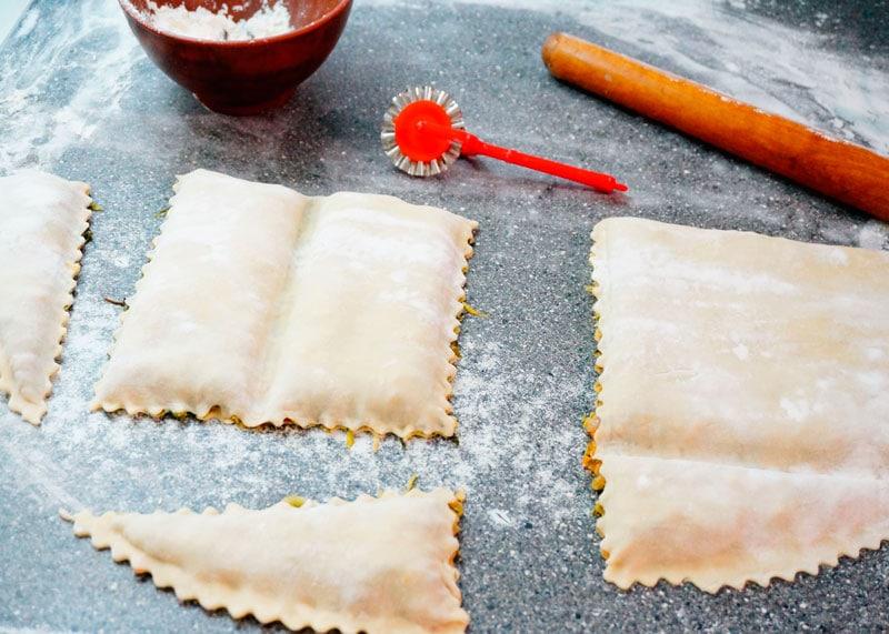 Тортелли из Кореццо рецепт фото