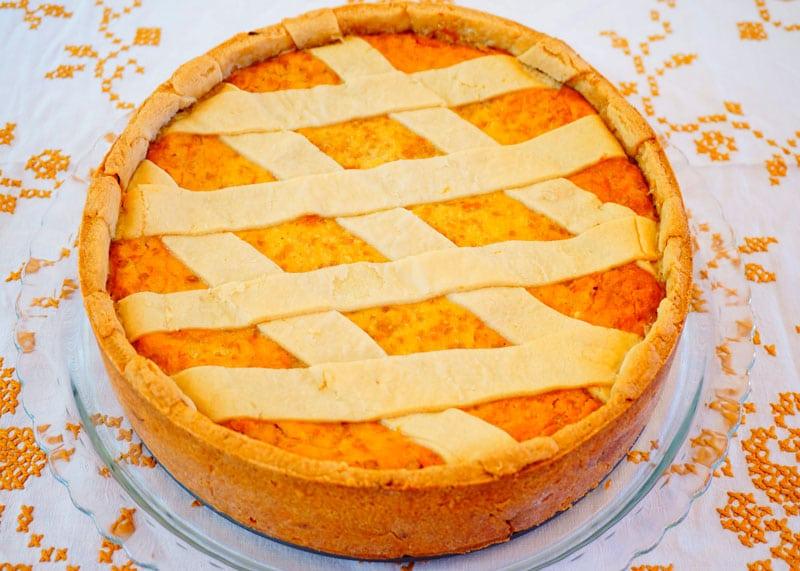 Неаполитанский пасхальный пирог приготовление фото