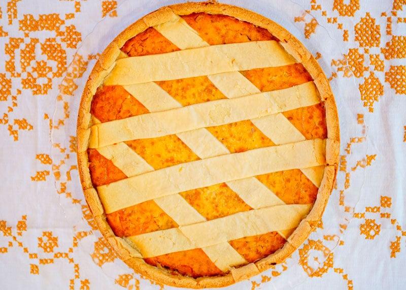 Неаполитанский пасхальный пирог фото