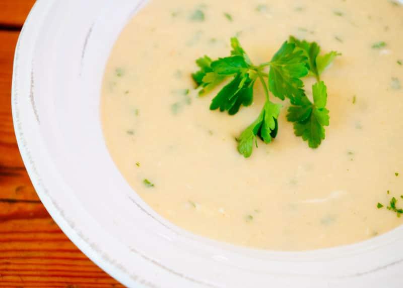 Чесночно-фасолевый суп фото