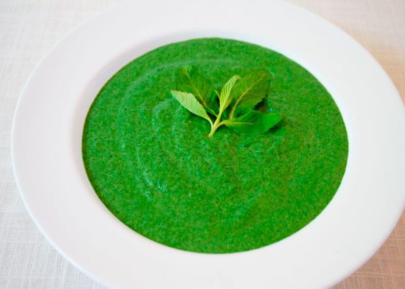 Крем-суп из дикой крапивы рецепт фото