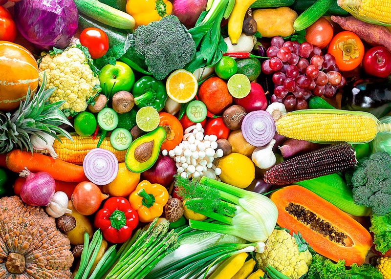Много овощей фото