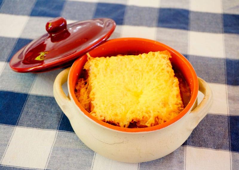 Настоящий луковый суп рецепт фото
