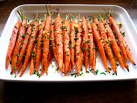 Жаренная морковь фото