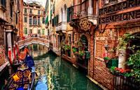 Венеция каналы фото