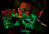 Абсент и галлюцинации фото