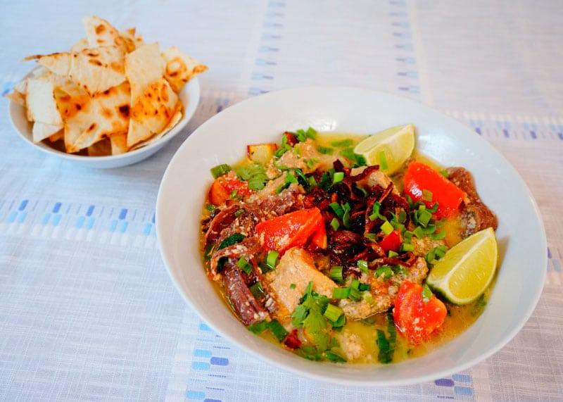 Индонезийский говяжий суп рецепт фото