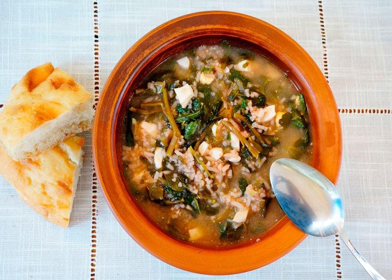 Армянский рисовый суп приготовление фото