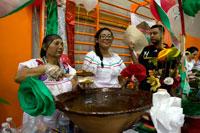 Фестиваль моле в Сан Педро фото